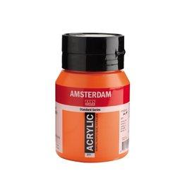Talens Amsterdam acrylverf Vermiljoen 500ML