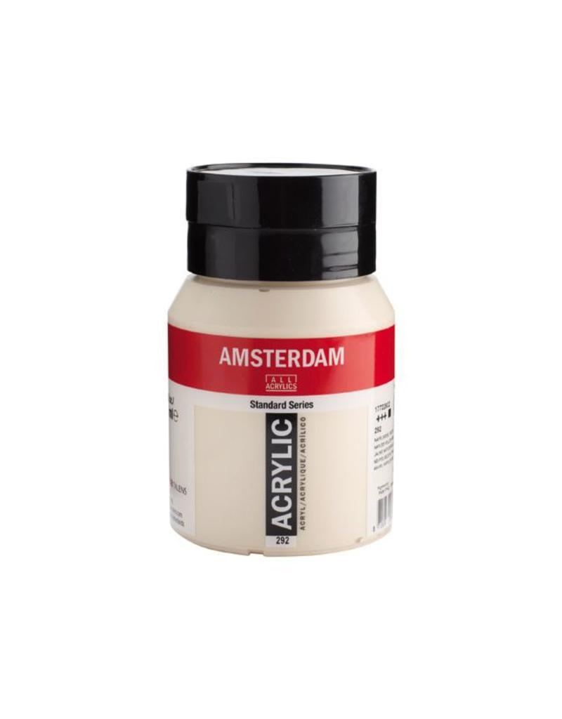 Talens Amsterdam acrylverf Napelsgeel rood licht 500ML