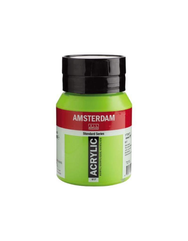 Talens Amsterdam acrylverf Geelgroen 500ML