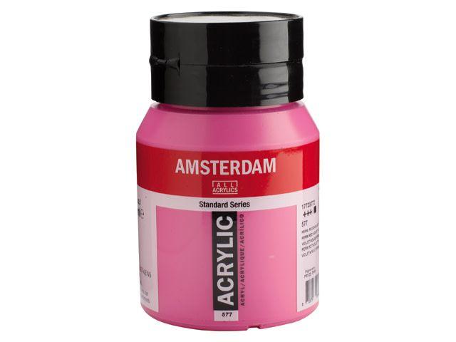 Talens Amsterdam acrylverf Perm. rood violet licht 500ML