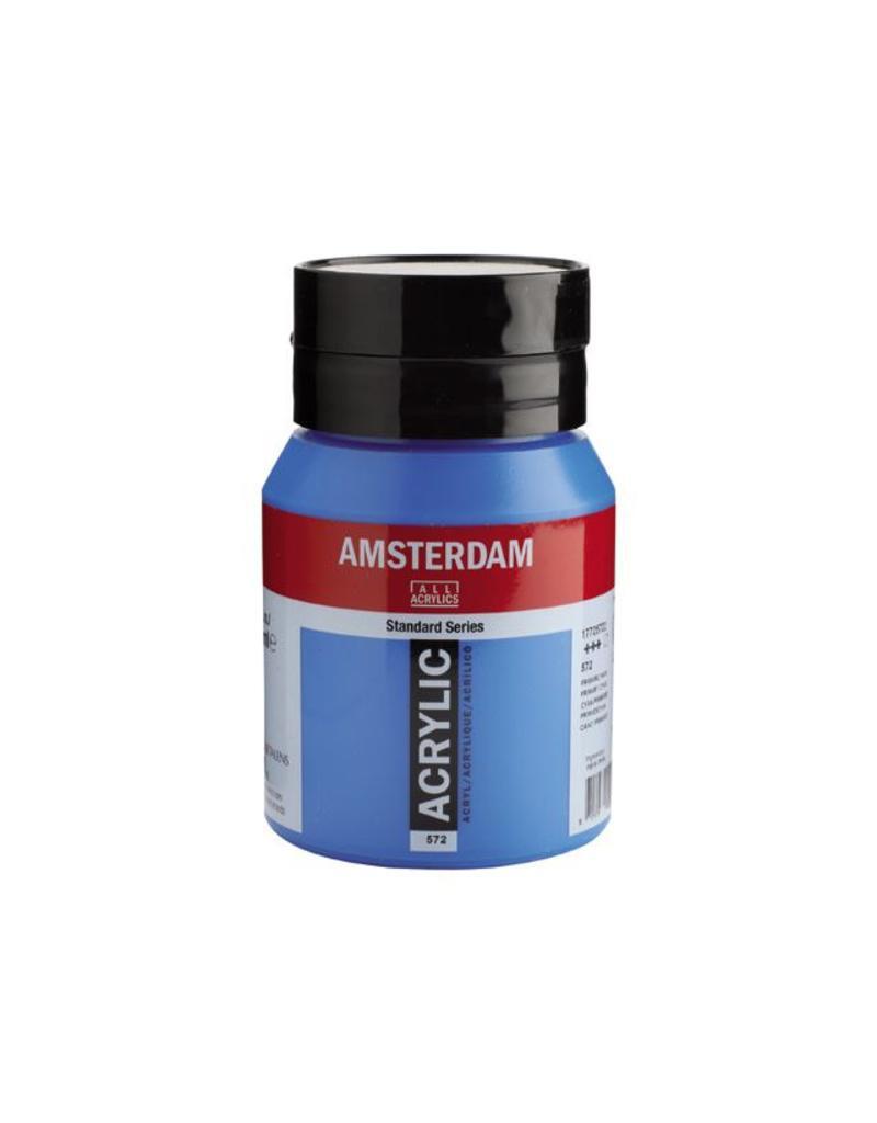Talens Amsterdam acrylverf Primaircyaan 500ML