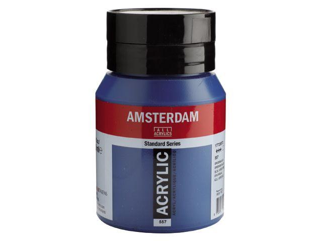Talens Amsterdam acrylverf Groenblauw 500ML