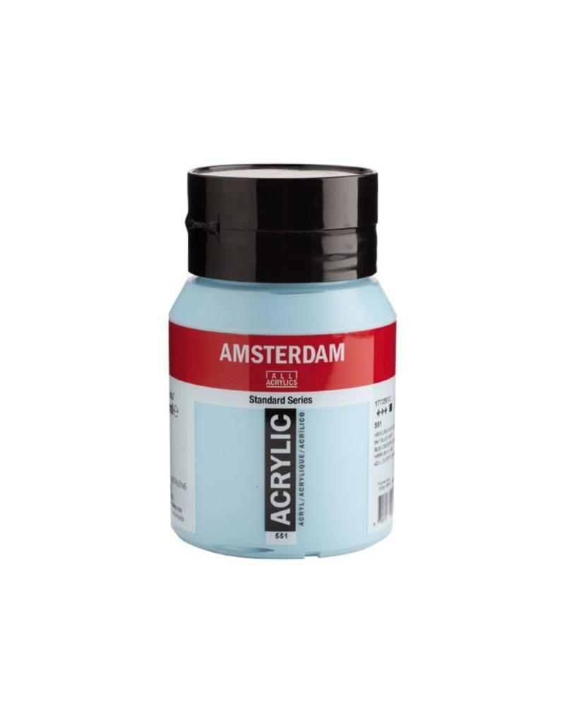 Talens Amsterdam acrylverf Hemelsblauw licht 500ML