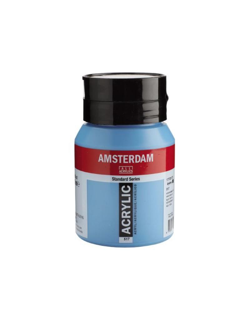 Talens Amsterdam acrylverf Koningsblauw 500ML