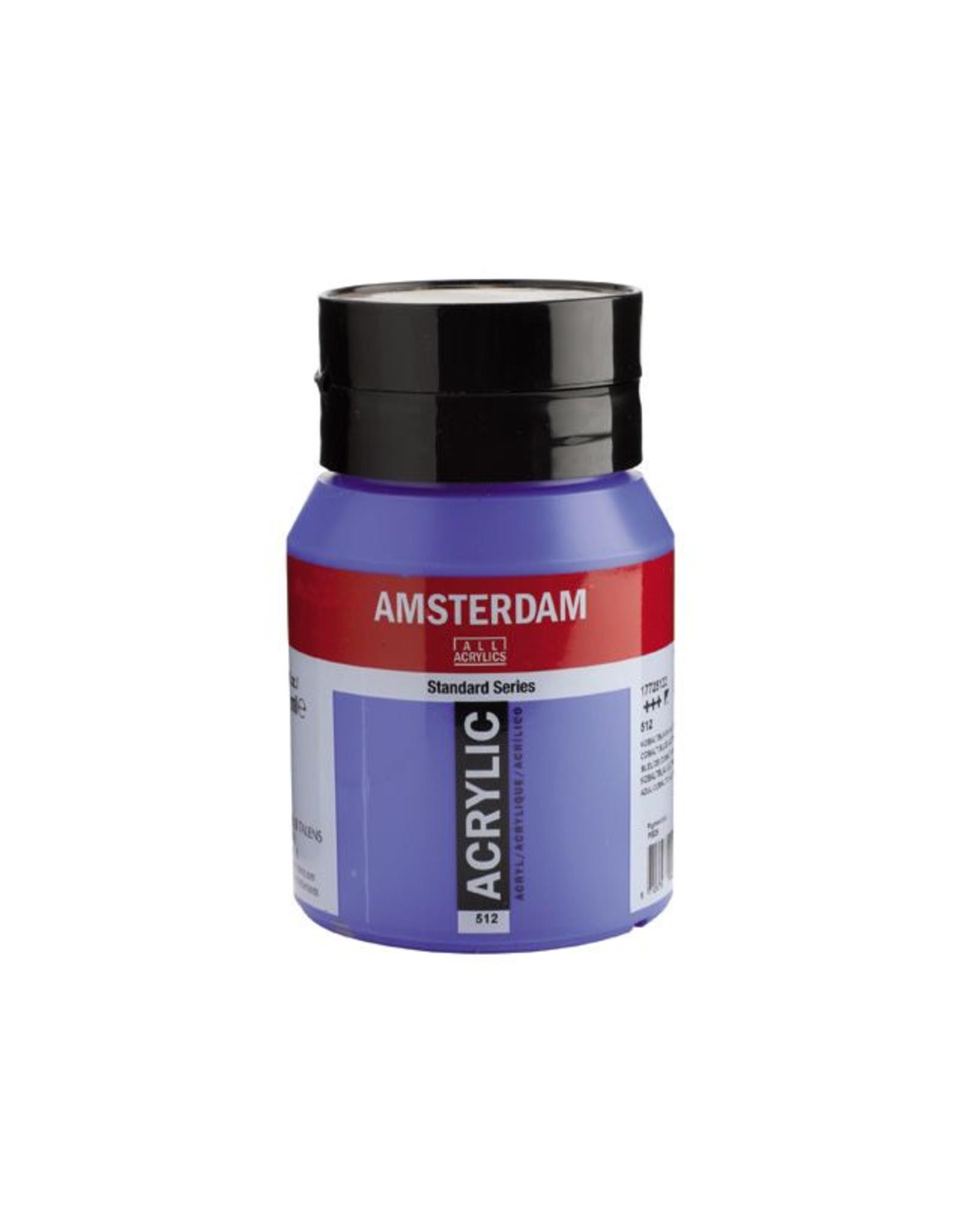 Talens Amsterdam acrylverf Kobaltblauw (ultramarijn) 500ML