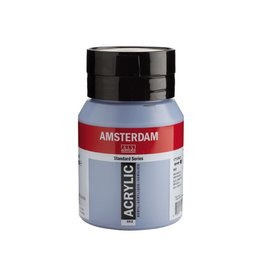 Talens Amsterdam acrylverf Grijsblauw 500ML