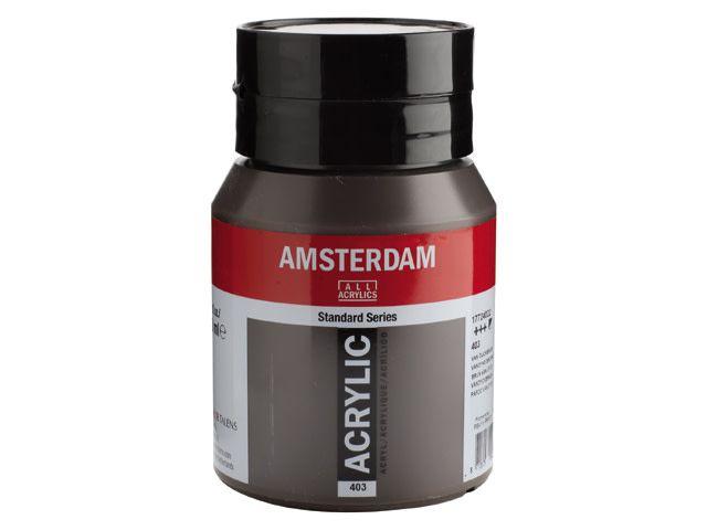 Talens Amsterdam acrylverf Van Dijckbruin 500ML