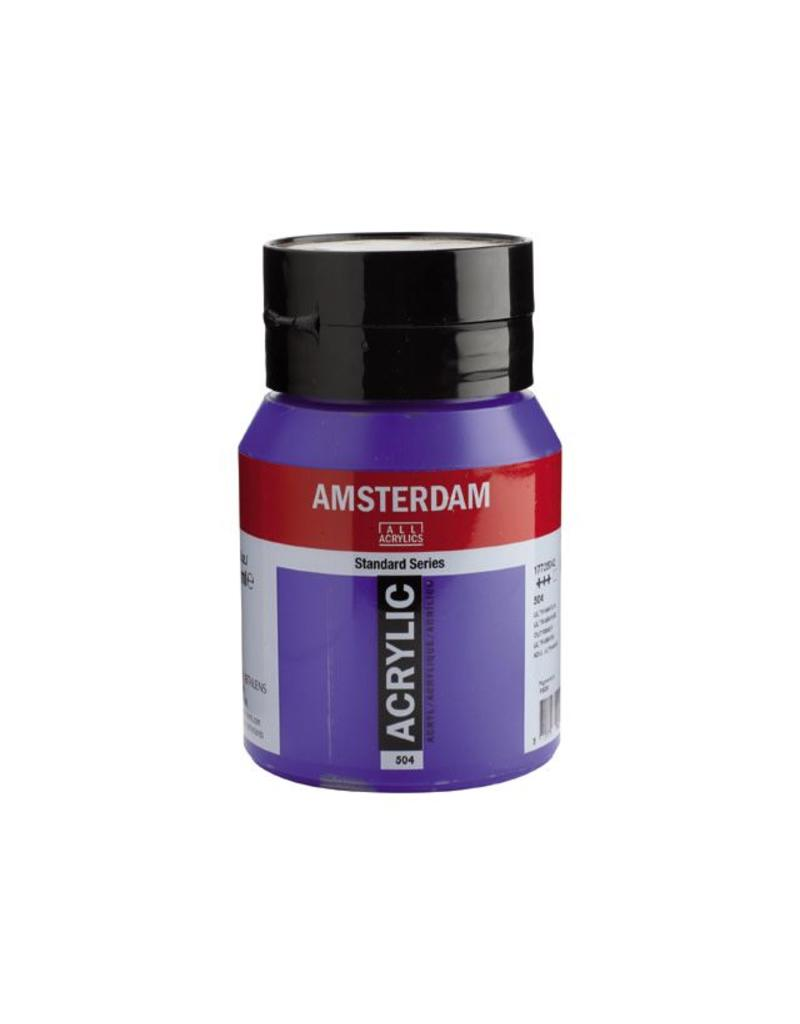 Talens Amsterdam acrylverf Ultramarijn 500ML