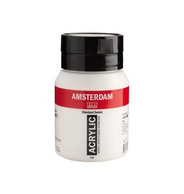 Talens Amsterdam acrylverf Titaanwit 500ML