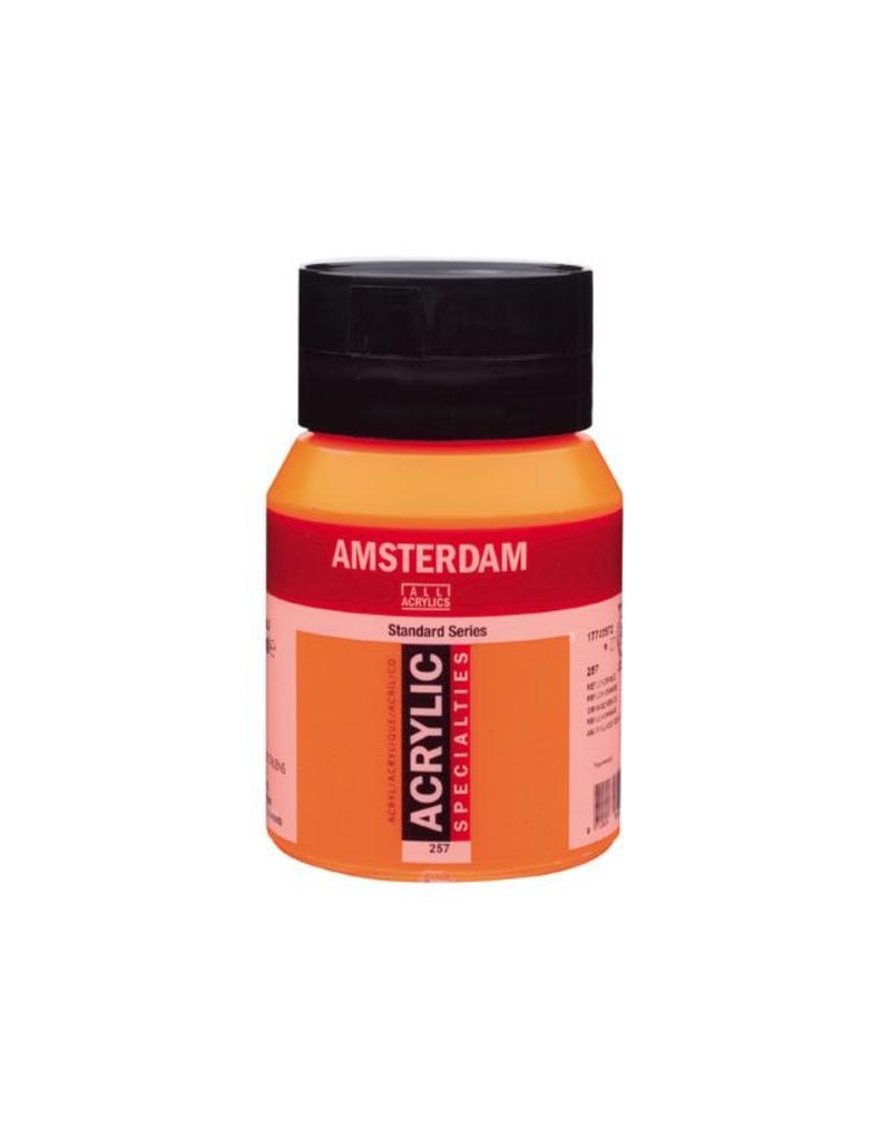 Talens Amsterdam acrylverf Reflexoranje 500ML