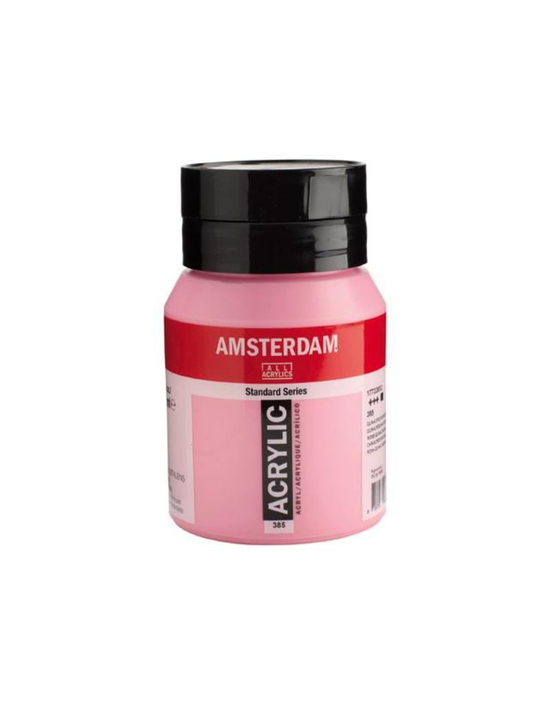 Talens Amsterdam acrylverf Quinacridonerose licht 500ML