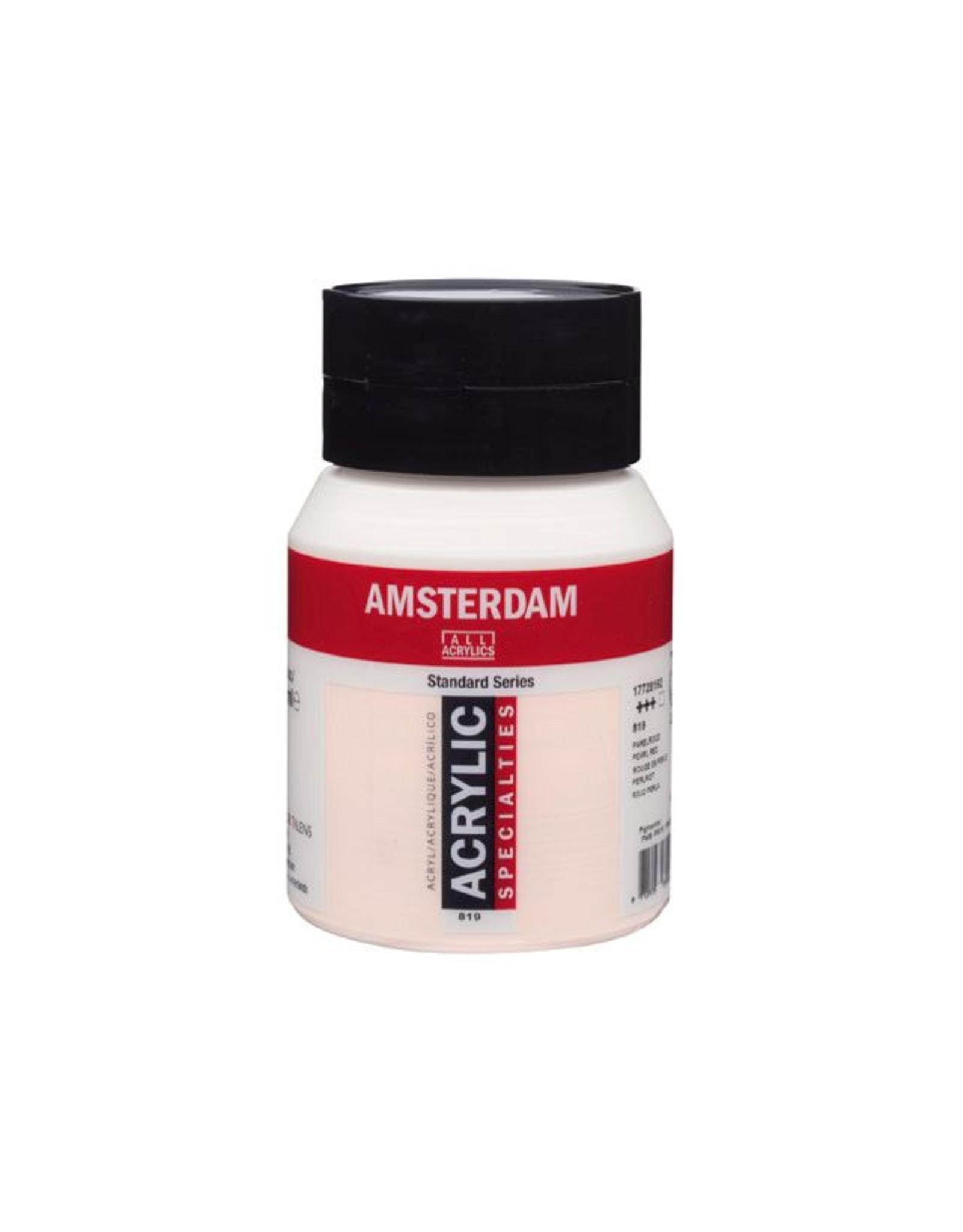 Talens Amsterdam acrylverf Parelrood 500ML