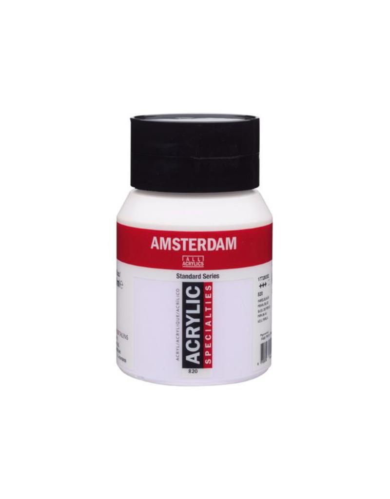 Talens Amsterdam acrylverf Parelblauw 500ML