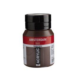 Talens Amsterdam acrylverf Omber gebrand 500ML