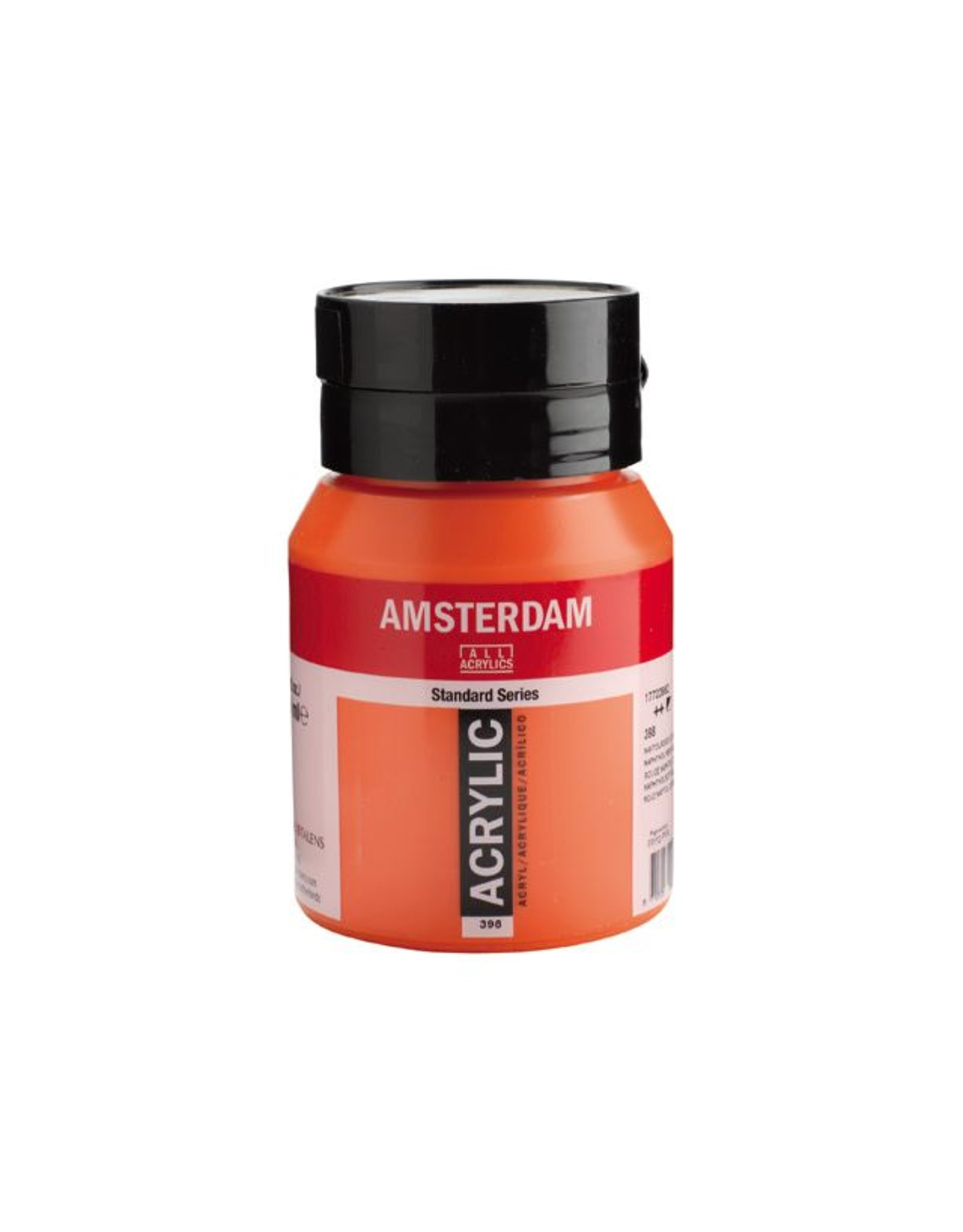 Talens Amsterdam acrylverf Naftolrood licht 500ML