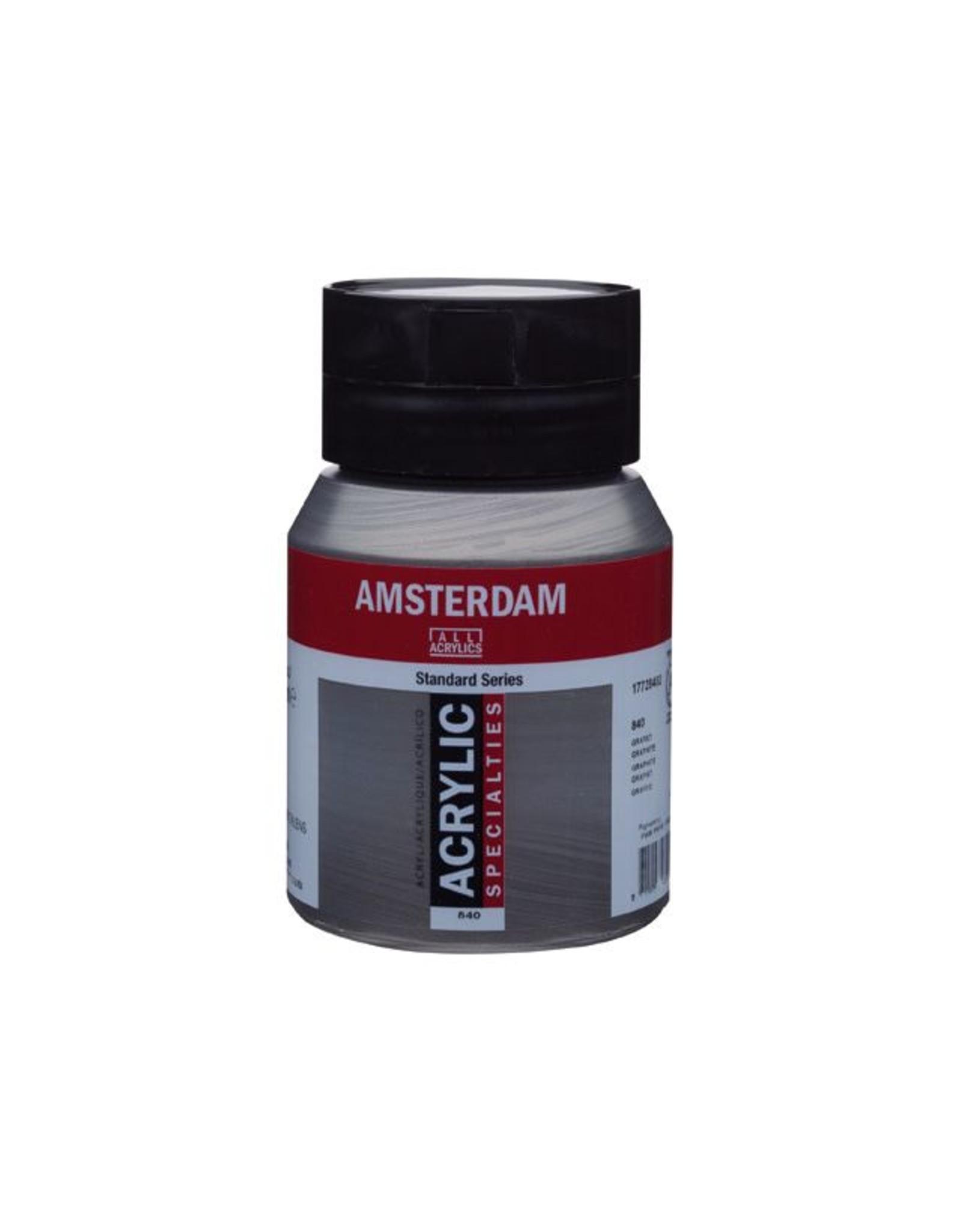 Talens Amsterdam acrylverf Grafiet 500ML