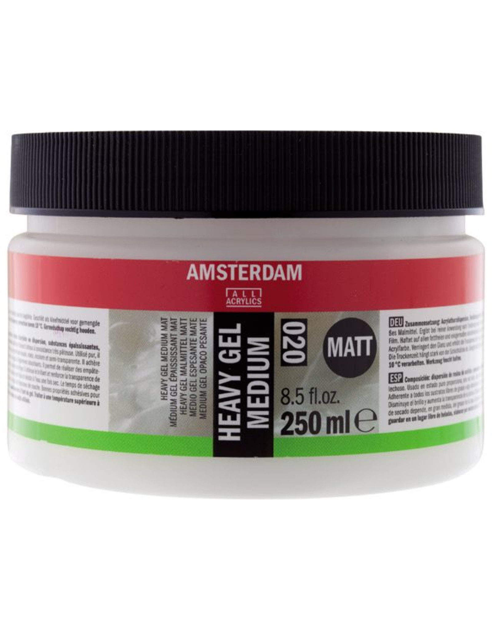 Talens Amsterdam heavy gel medium mat 250ML