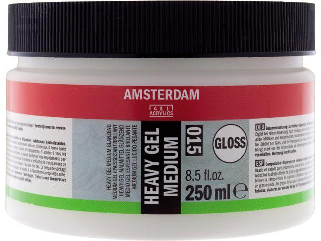 Talens Amsterdam heavy gel medium glanzend 250ML