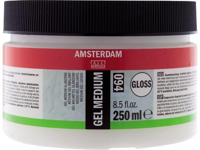 Talens Amsterdam gel medium glanzend 250ML