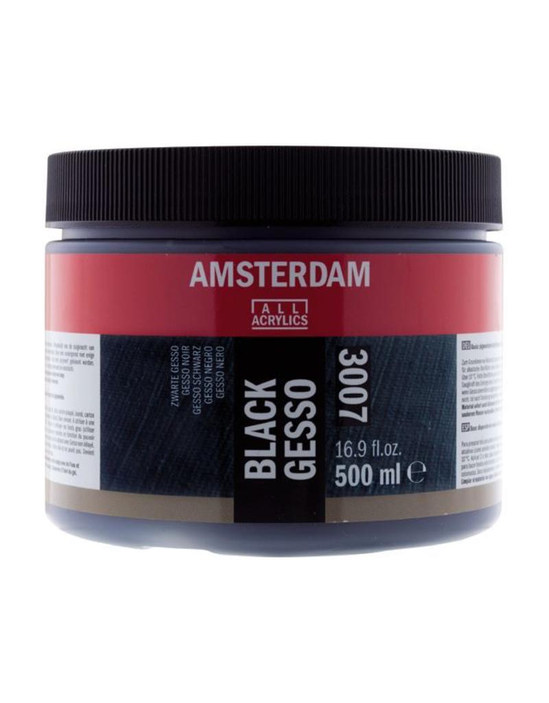 Talens Amsterdam gesso zwart 500ML