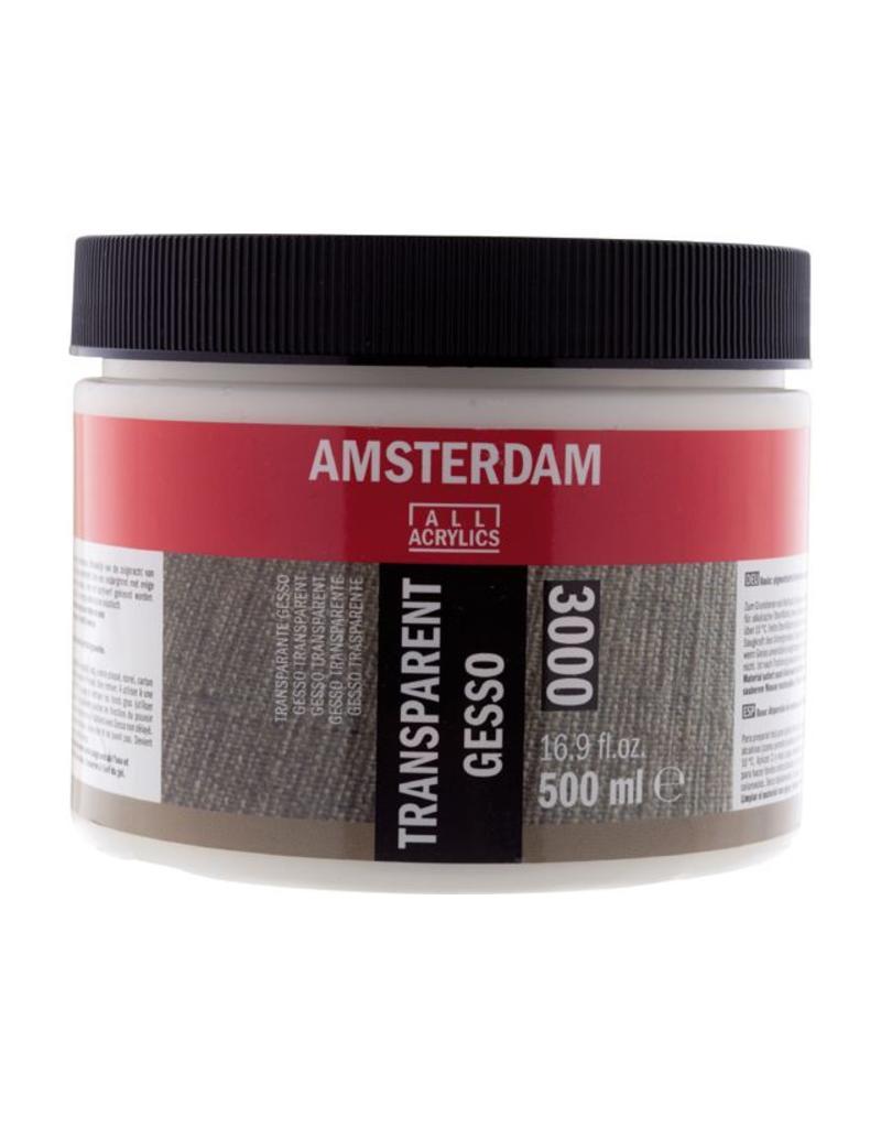 Talens Amsterdam gesso transparant 500ML