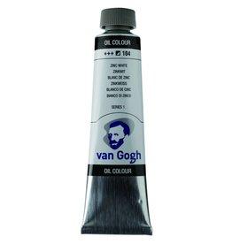 Talens Van Gogh oil paint tube 40 ml Zinc white