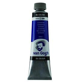 Talens Van Gogh oil paint tube 40ML Ultramarine