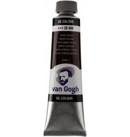 Talens Van Gogh oil paint tube 40ML Burnt umber