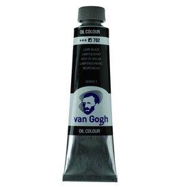 Talens Van Gogh olieverf tube 40ML Lampenzwart