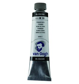 Talens Van Gogh oil paint tube 40ML Titanium white