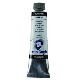 Talens Van Gogh olieverf tube 40ML Titaanwit