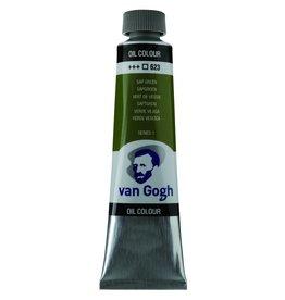Talens Van Gogh oil paint tube 40ML Sap green