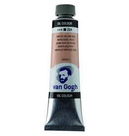 Talens Van Gogh oil paint tube 40ML Naples yellow red