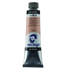 Talens Van Gogh olieverf tube 40ML Napelsgeel rood