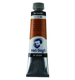 Talens Van Gogh oil paint tube 40ML Transparent oxyd yellow