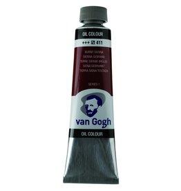 Talens Van Gogh oil paint tube 40ML Burnt sienna