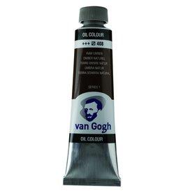 Talens Van Gogh oil paint tube 40ML Raw umber