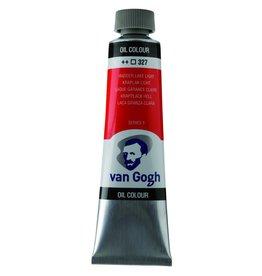Talens Van Gogh oil paint tube 40ML Madder lake light