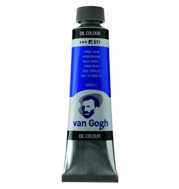 Talens Van Gogh oil paint tube 40ML Cobalt blue