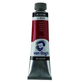 Talens Van Gogh oil paint tube 40ML Carmine