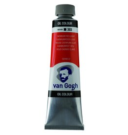 Talens Van Gogh oil paint tube 40ML Cadmium red light