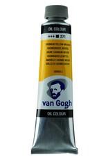 Talens Van Gogh oil paint tube 40ML Cadmium yellow medium