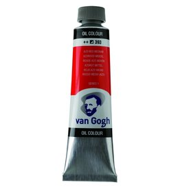 Talens Van Gogh olieverf tube 40ML Azorood midden