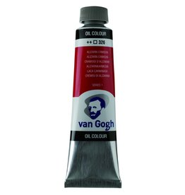 Talens Van Gogh oil paint tube 40ML Alizarin crimson