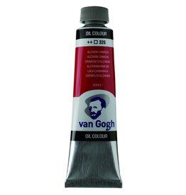 Talens Van Gogh olieverf tube 40ML Alizarin crimson