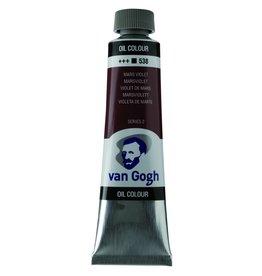 Talens Van Gogh oil paint tube 40ML Mars violet