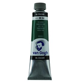 Talens Van Gogh oil paint tube 40ML Fir green