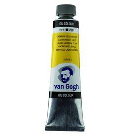 Talens Van Gogh oil paint tube 40ML Cadmium yellow light