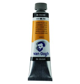 Talens Van Gogh oil paint tube 40ML Cadmium yellow deep