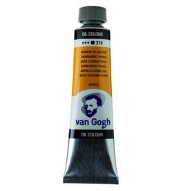 Talens Van Gogh olieverf tube 40ML Cadmiumgeel donker
